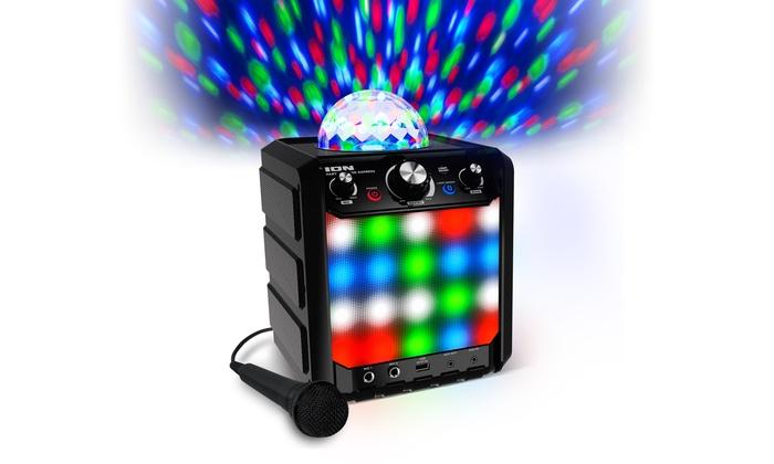 Ion Ipa78bk Party Rocker Express Bt Prtbl Pa Black Speaker