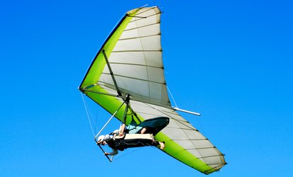 image for <strong>Paragliding</strong> or Hang Gliding Tandem Experience at Birdman Academy (21% Off)