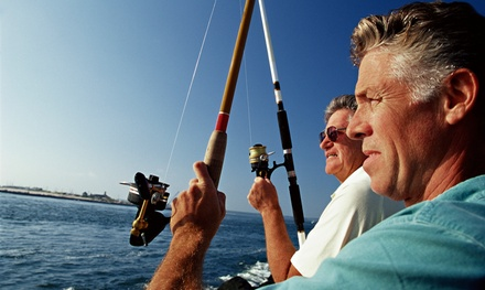 Half- or Full-Day Fishing Trip for Three from Coastal Pursuit (Up to 45% Off)