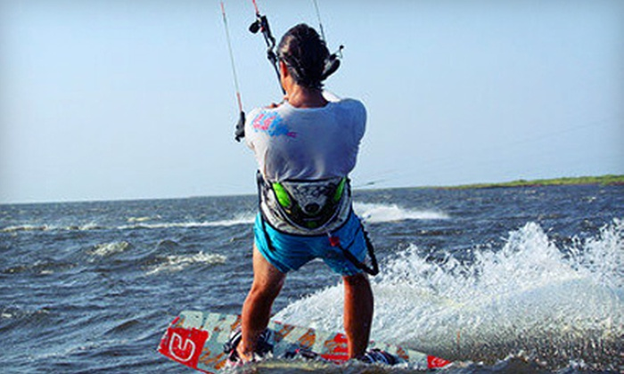 Kite Club Hatteras - Avon: $185 for One Semi-Private Kiteboarding Lesson for Two at Kite Club Hatteras ($370 Value)