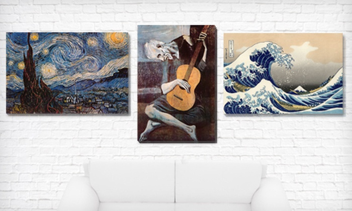 Art Masterpieces Gallery-Wrapped Canvas Print: $69 for Old Masters Gallery-Wrapped Canvas Print ($249.98 List Price). 14 Options Available. Free Shipping and Returns.