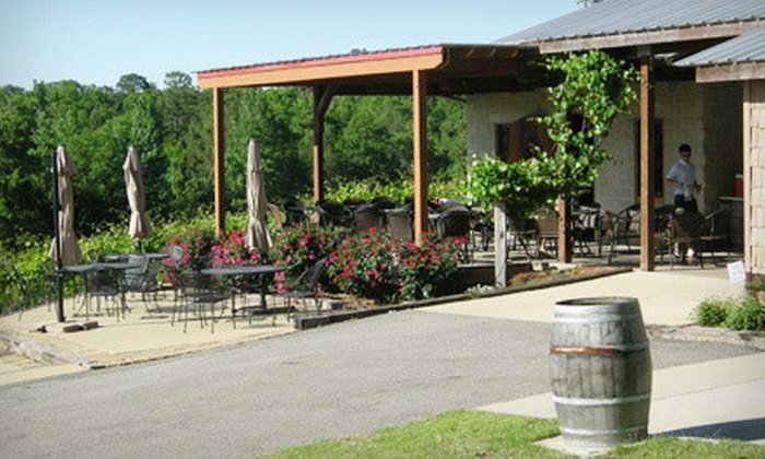 Ozan Vineyard & Cellars - Calera: $20 for Wine Tasting with Cheese, Chocolate, and a Gift Bag for Two at Ozan Vineyard & Cellars ($43 Value)