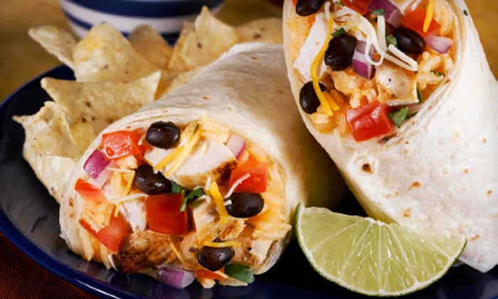 Chronic Tacos - West Kelowna: Burrito Meal for Two or Catering Package at Chronic Tacos (Up to 52% Off)