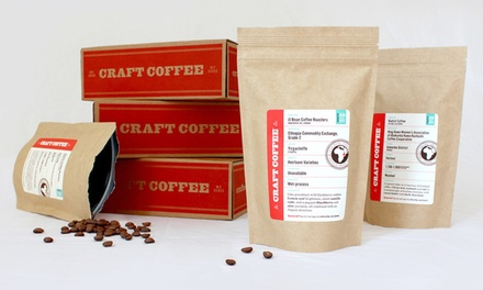 $19  for $40 Worth of Coffee Subscriptions from Craft Coffee