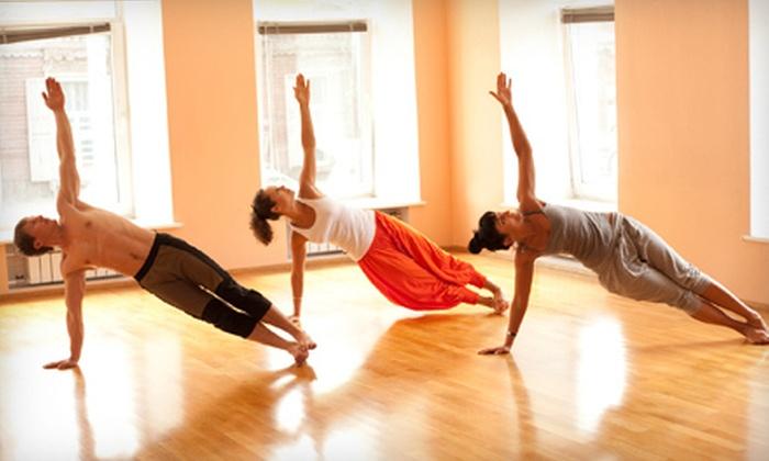 Shahr Salon & Wellness - West Hollywood: 10 or 20 Yoga Classes or a 200-Hour Yoga-Teacher Training Program at Shahr Salon & Wellness (Up to 84% Off)