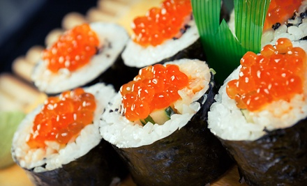 Japanese and Chinese Lunch or Dinner Cuisine at Hibachi Buffet (Half Off). Two Options Available.