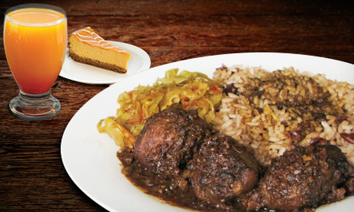 Caribbean Twist - North End: Caribbean Food at Caribbean Twist (Half Off). Two Options Available.