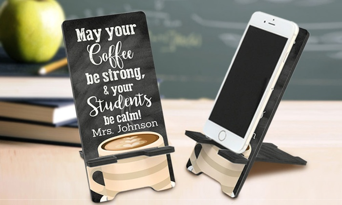 Monogram Online Personalized Cell Phone Stand Groupon