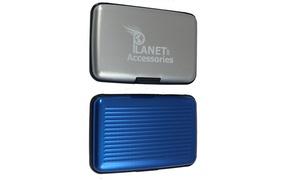 Porte-cartes aluminium