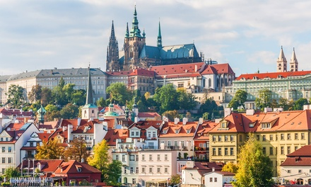 ✈ Krakow and Prague: 4 or 6 Nights at Choice of Hotels with Flights and Train Transfer in Between Cities*
