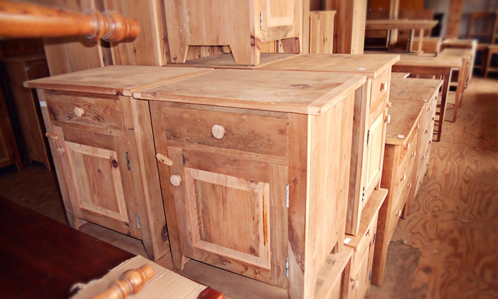 Valentino Designs - Upper Providence: Reclaimed Barn-Wood Furniture at Valentino Designs (50% Off). Three Options Available.