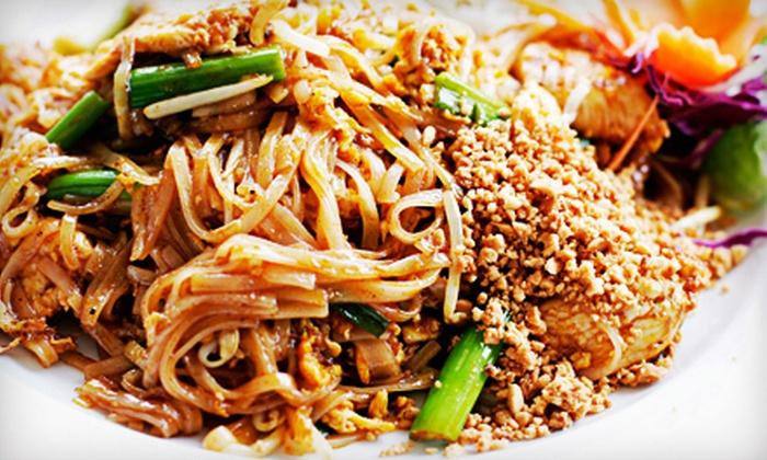 Thai Stop (Mai Thai) - Northwest Oklahoma City: $8 for $16 Worth of Dinner Cuisine at Thai Stop (Mai Thai)