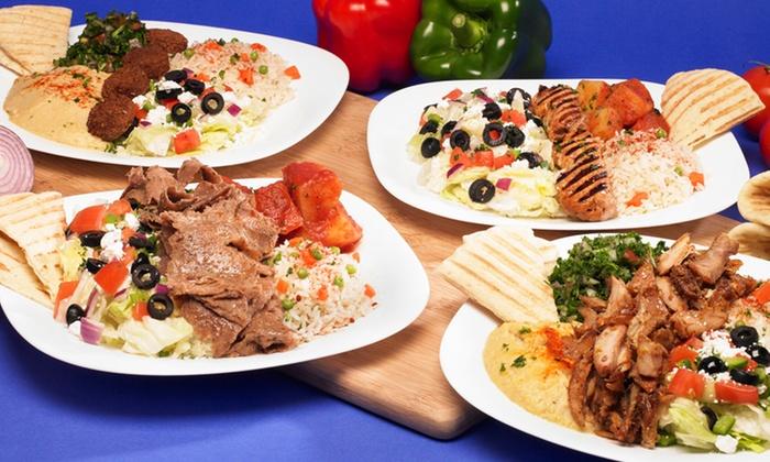Taste of Mediterranean - Paramus: Mediterranean Meal for Two or Four at Taste of Mediterranean (Up to 50% Off)
