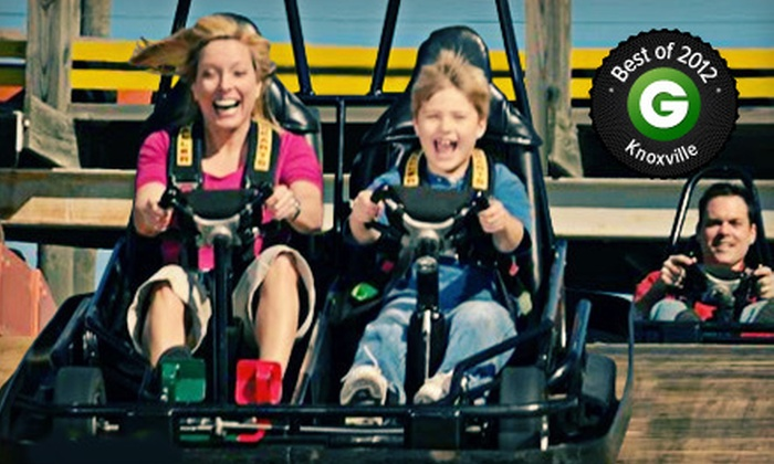 The Track Family Recreation Center - The Track: $54 for Visit to The Track Family Recreation Center (Up to $90 Value)