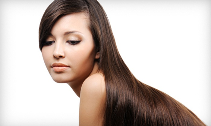 Wigs and Hair Extensions of Sarasota - Sarasota: Full Set of Hair Extensions or 18-Inch Remi Human-Hair Wig at Wigs and Hair Extensions of Sarasota (Up to 51% Off)