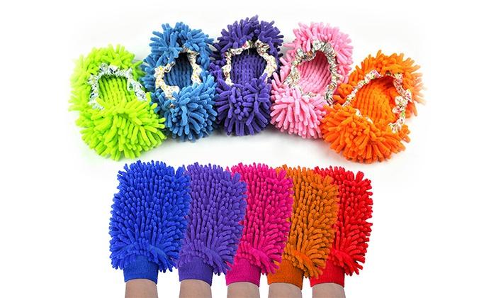 81c0d9f5c16c7 Chaussons et gants microfibre   Groupon Shopping