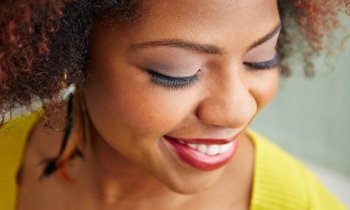 Wake Up Posh Permanent Cosmetics - Longview: Half Set of Eyelash Extensions at Wake Up Posh Permanent Cosmetics (32% Off)