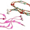 HandCandy Stereo Necklace Earbuds with In-Line Mic