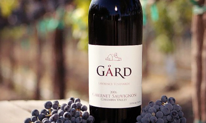 Gard Vintners - Gard Woodinville Tasting Room: Wine Tasting with Bottles of Wine for Two or Four at Gard Vintners (Up to 51% Off)
