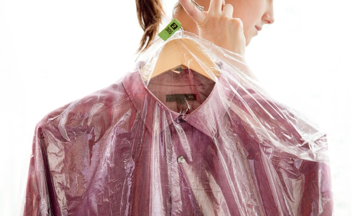 Dry cleaning services holiday dry cleaners groupon for Dry cleaners wedding dress preservation