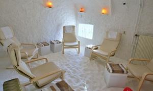Luchtwegen Therapie: Eén sessie zuiverende Halotherapie bij Luchtwegentherapie