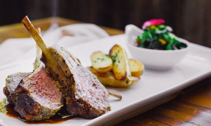 LeVilla West - Signal HIll: Steakhouse Dinner for Two or Four, or Lunch for Two at LeVilla West (Up to 45% Off)