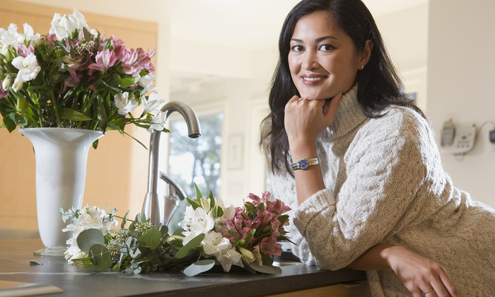 12th Table - Nashville: One-Day Floral Arrangement Course at 12th Table (45% Off)