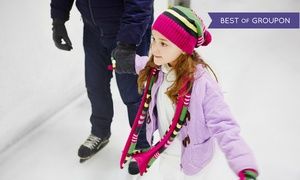 Arctic Edge Ice Arena: Ice-Skating Package for Two or Four, or a Learn-to-Skate Package at Arctic Edge Ice Arena (Up to 48% Off)
