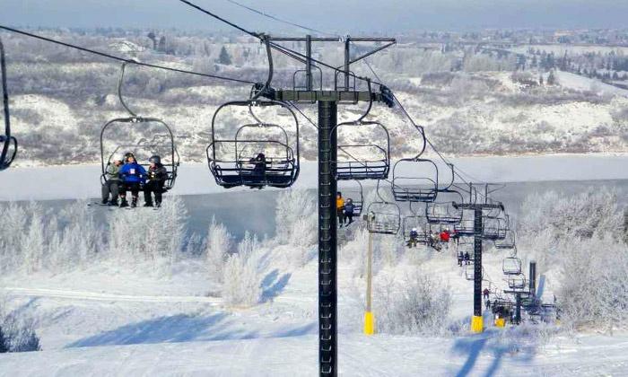 Sunridge Ski Area - Edmonton: One-Day Lift Tickets for Two or Six Multi-Day Lift Tickets at Sunridge Ski Area (Up to 47% Off)