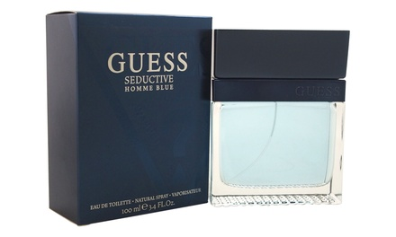 Guess Seductive Homme Blue Eau de Toilette for Men (3.4 Fl. Oz.)