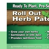 Roll Out Herbs Grow Kit with Grass Patch