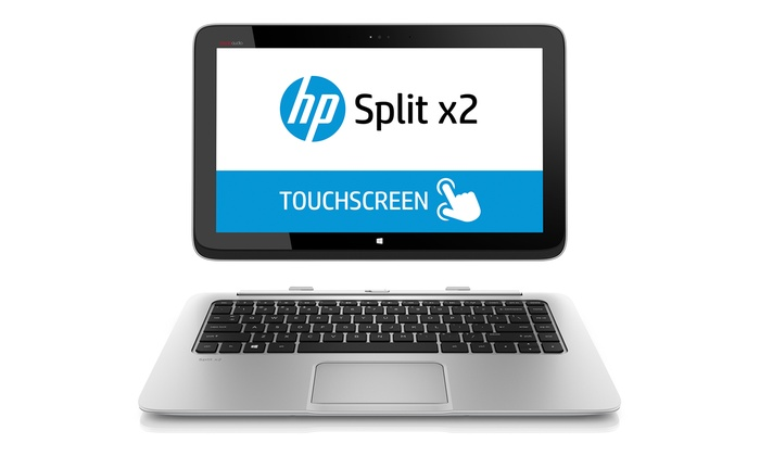 "HP 2-in-1 Split Ultrabook Touchscreen Laptop (13-g110dx): HP Split 13.3"" Ultrabook Touchscreen Laptop with a 128GB SSD Hard Drive (Manufacturer Refurbished). Free Returns."
