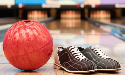 Two Games of Bowling with Shoe Rentals for Up to 6 or 12 at Parkway Lanes (Up to 73% Off)