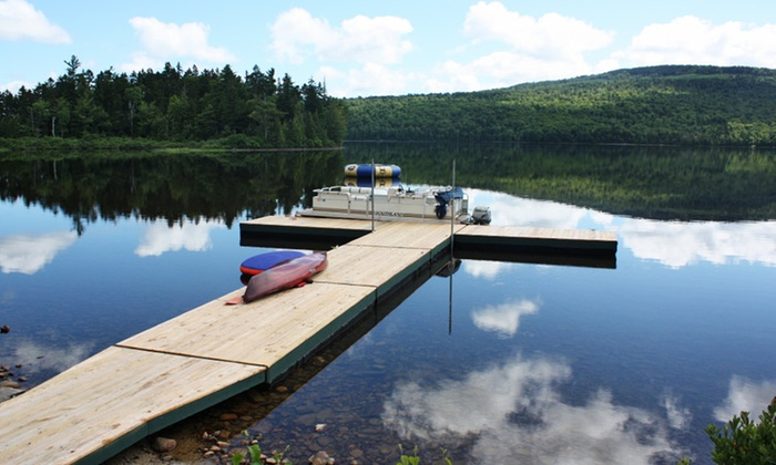 Lake Parlin Lodge & Cabins - Parlin Pond, Maine: 1- or 2-Night Stay for Up to Six at Lake Parlin Lodge & Cabins in Parlin Pond, ME. Combine Up to 8 Nights.