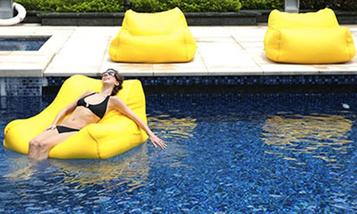 Giant Floating Pool Bean Bag Groupon Goods