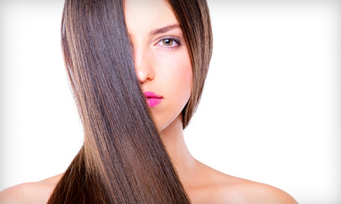 House of Synergy - Long Beach: Keratin Treatment with Optional Haircut or Two Keratin Treatments at House of Synergy in Long Beach (Up to 58% Off)