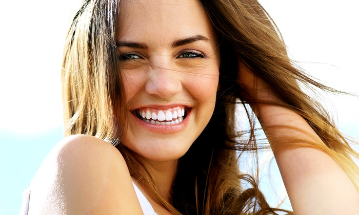 SMILE-ON-US Dentistry - Multiple Locations: Dental Checkup or Take-Home Whitening Kit at SMILE-ON-US Dentistry (Up to 87% Off)