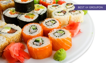 Asian Cuisine and Sushi at Aroma Restaurant and Sushi (50% Off).