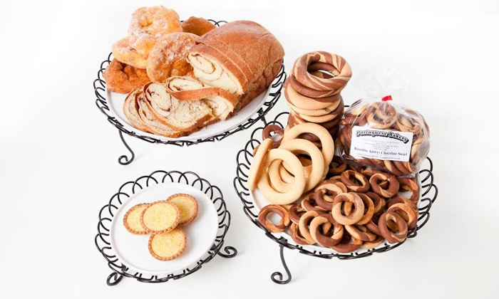 Portuguese Bakery - Santa Clara: $12 for Two Groupons, Each Good for $10 Worth of Mini Line of Baked Goods at Portuguese Bakery ($20 Value)