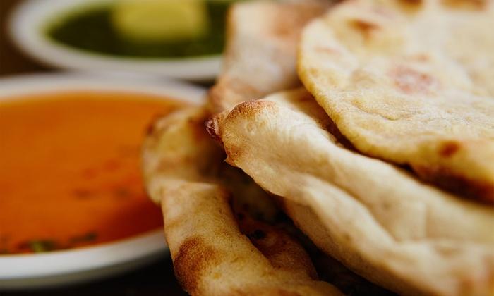 Lakshmi Bhavan, 10e - PARIS: Repas indien végétarien avec entrée, naan, plat et dessert pour 2 personnes à 19,90 € au restaurant Lakshmi Bhavan, 10e