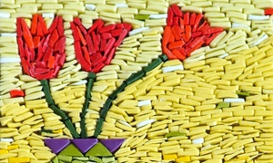 Glass Mosaic Canada: Two-Hour Mosaic or Stained-Glass Workshop for One, Two, or Four at Glass Mosaic Canada (Up to60%  Off)