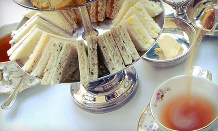 Nibbles Cafe - Tulsa: High Tea for Two or Four Adults at Nibbles Cafe (Half Off)