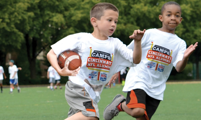 Cincinnati NFL Alumni Hero Youth Football Camps - Multiple Locations: Cincinnati NFL Alumni Hero Non-Contact Youth Football Camp Instruction for Ages 6–14 (5-Day Camp)