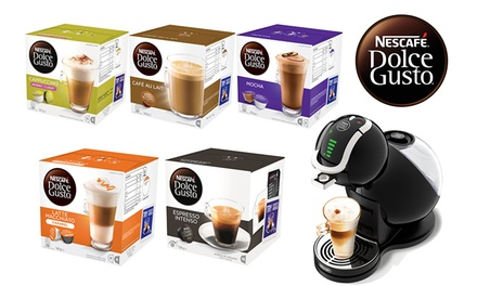 dolce gusto coffee machine pods groupon goods. Black Bedroom Furniture Sets. Home Design Ideas