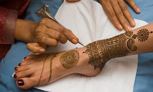 Henna By Priti: 30-Minute Henna Art Session from Henna By Priti (45% Off)