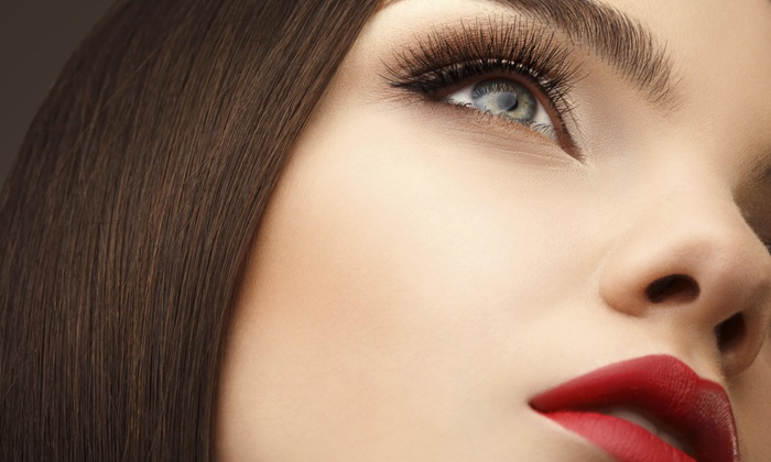 Julia G. Makeup and Lashes at Affinity Salon & Spa - North Side: Full Set of Eyelash Extensions at Julia G. Makeup and lashes (50% Off)