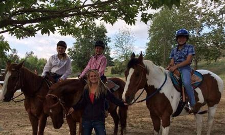 Two Horseback-Riding Lessons at Simon Horsemanship LLC (50% Off)