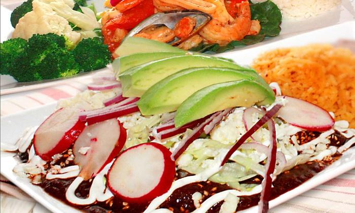 La Fortaleza - La Fortaleza: Dinner for Two or Four at La Fortaleza Mexican Restaurant in Garfield (Up to 50% Off)