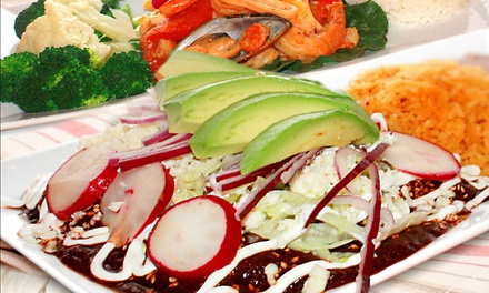 Dinner for Two or Four at La Fortaleza Mexican Restaurant in Garfield (Up to 50% Off)