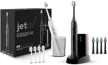 JetWave Sonic Toothbrush with UV Sanitizing Charging Base